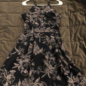 Soprano Dresses - Adorable blue flowered dress